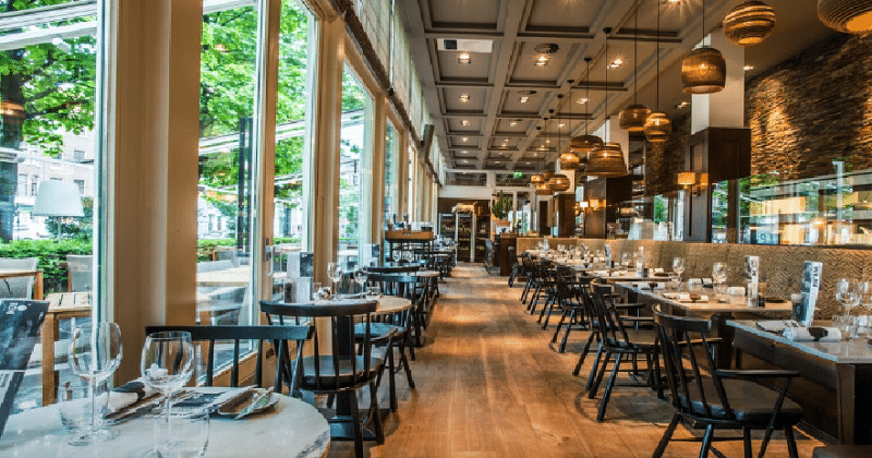 Dining in Amsterdam 1